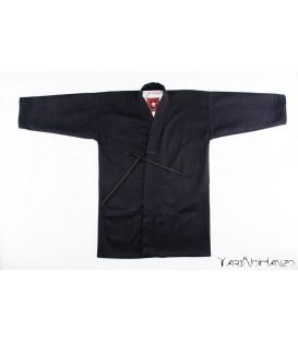 Nami Kendo Gi nero | Kendogi artigianale | YariNoHanzo handmade