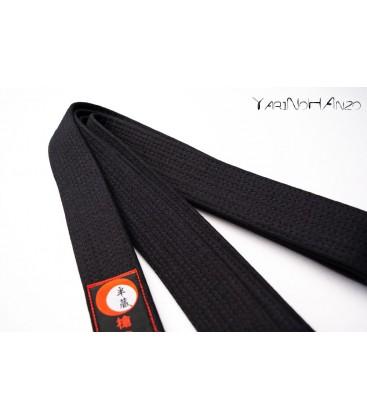 Cintura NERA DELUXE per Karate e Judo | Karate Judo Obi