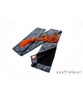 Katana Bukuro Kamon (fondo chiaro) | YariNoHanzo Handmade