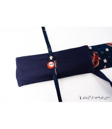 Sacca Aikido KOI blu | Buki Bukuro KOI